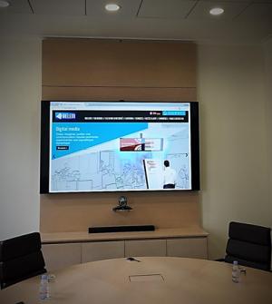 équipement audiovisuel salle de réunion
