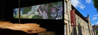 muséographie mur images sonorisation beaune