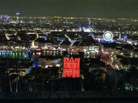 Vidéoprojecteurs à Lyon pour la fête des lumières