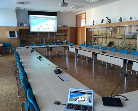 installation salles du conseil