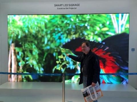 écrans samsung smart signage