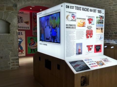 muséographie murs d'images écrans interactifs