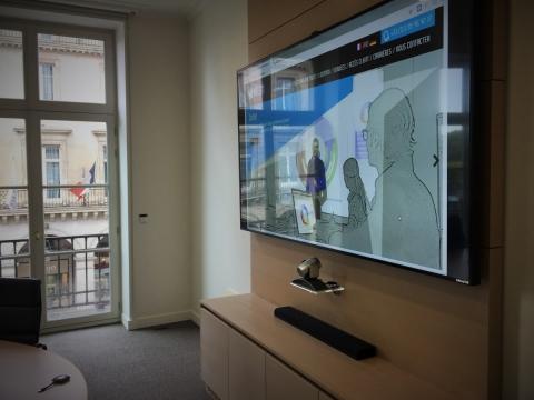 equipement audiovisuel salle de réunion