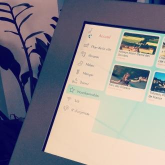 borne audiovisuelle interactive