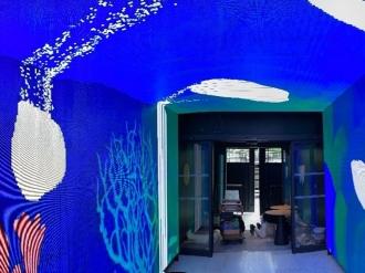 Installation d'un mur d'images immersif