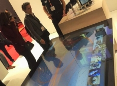 tables tactiles multitouch nec