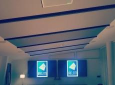 micro plafond Shure MXA910