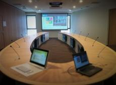 installation salles de conférence